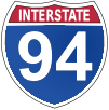 Interstate Highway Sign